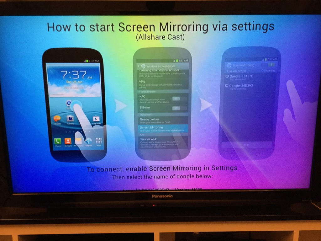 how to use allshare on samsung tv