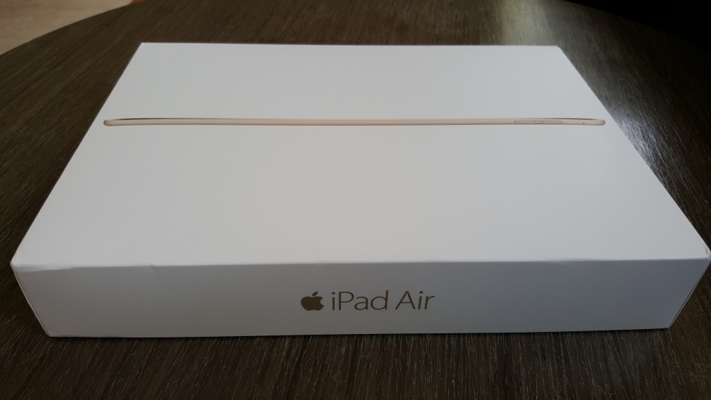 Apple iPad Air 2 unopened box front
