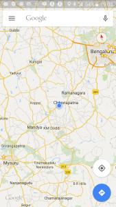 Coffee House between MySore and Bangalore on Google Maps screenhot