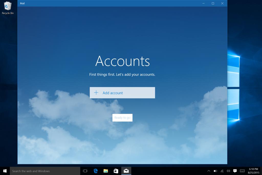 Microsoft Surface Win 10 E-Mail Calendar and Office Setup-4