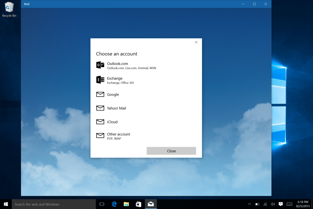Microsoft Surface Win 10 E-Mail Calendar and Office Setup-5