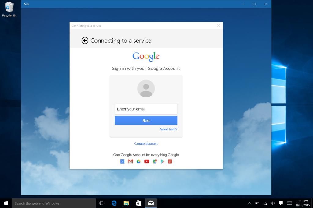 Microsoft Surface Win 10 E-Mail Calendar and Office Setup-6