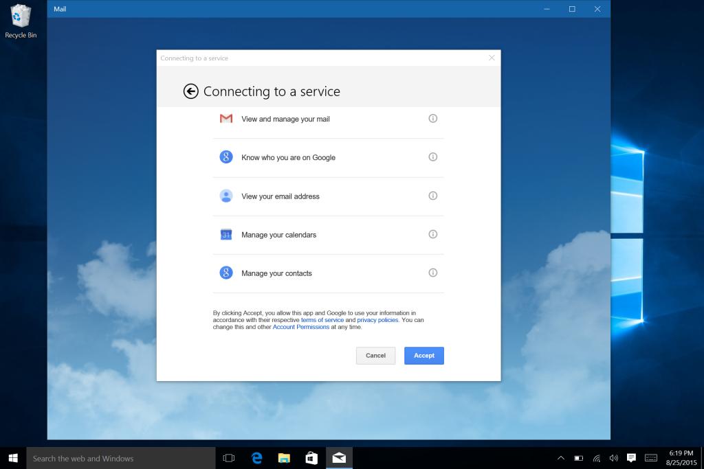 Microsoft Surface Win 10 E-Mail Calendar and Office Setup-8