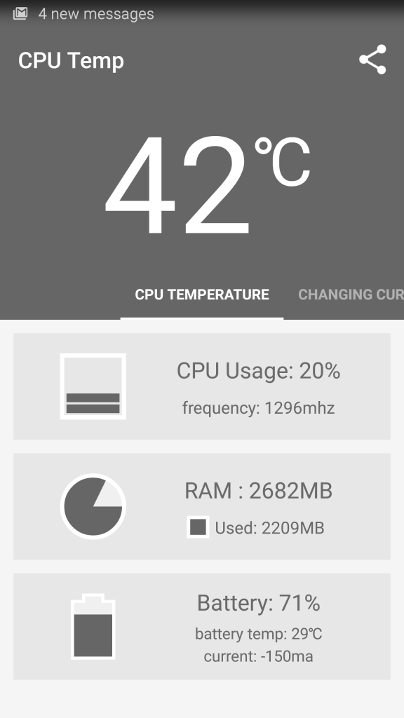 Samsung Galaxy S6 Edge temperature playing Need for Speed