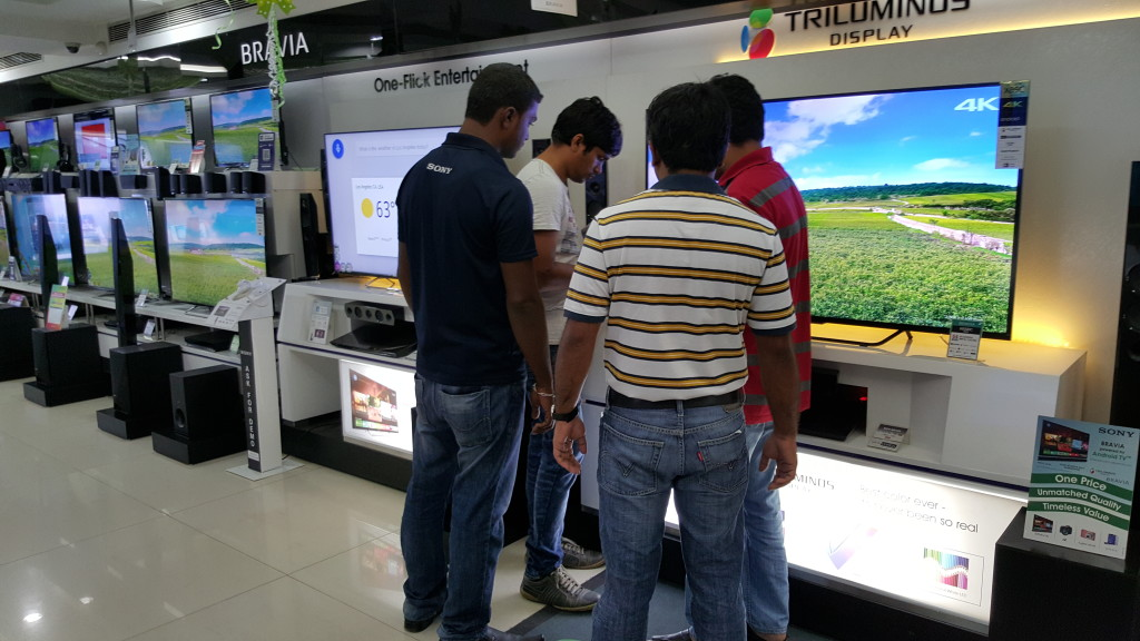 Sony 4K TV purchase from Sony Center Bangalore-3