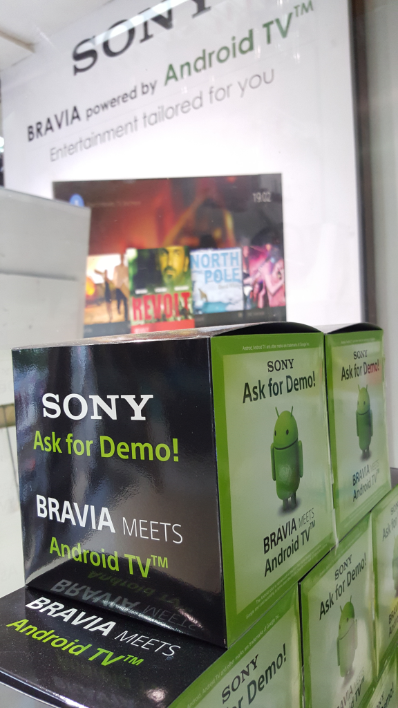 Sony 4K TV purchase from Sony Center Bangalore-5