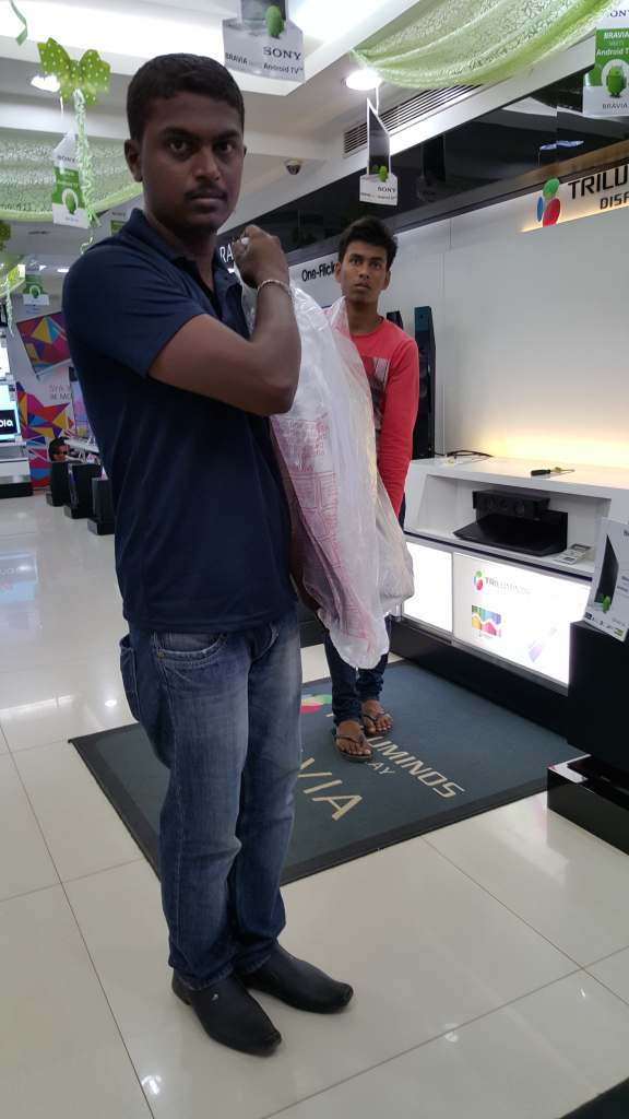 Sony 4K TV purchase from Sony Center Bangalore-6