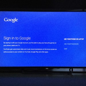 Sony 4K TV with Android setup complicated and update too long-12