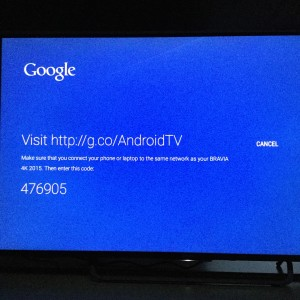 Sony 4K TV with Android setup complicated and update too long-13