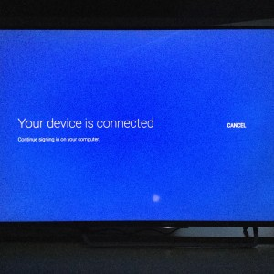 Sony 4K TV with Android setup complicated and update too long-14
