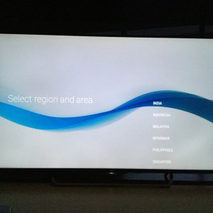Sony 4K TV with Android setup complicated and update too long-18