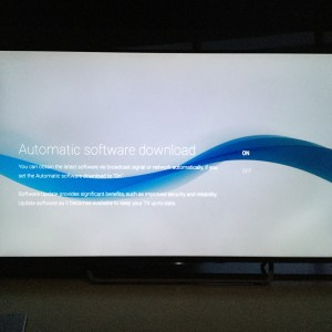 Sony 4K TV with Android setup complicated and update too long-20