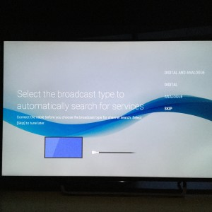 Sony 4K TV with Android setup complicated and update too long-23