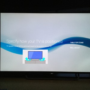Sony 4K TV with Android setup complicated and update too long-24
