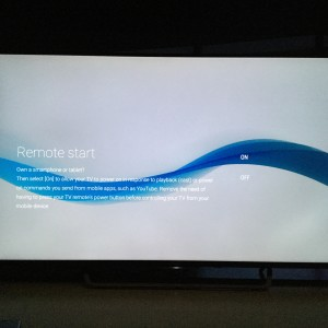 Sony 4K TV with Android setup complicated and update too long-25