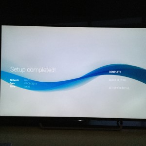 Sony 4K TV with Android setup complicated and update too long-26