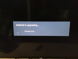 Sony 4K TV with Android setup complicated and update too long-32