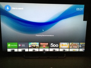 Sony 4K TV with Android setup complicated and update too long-36