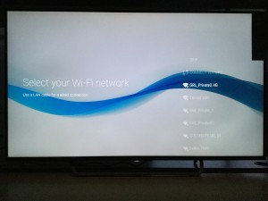 Sony 4K TV with Android setup complicated and update too long-4