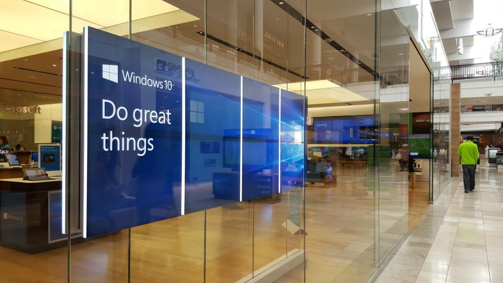 Windows Store West Valley Fair Mall Santa Clara California- Close Up