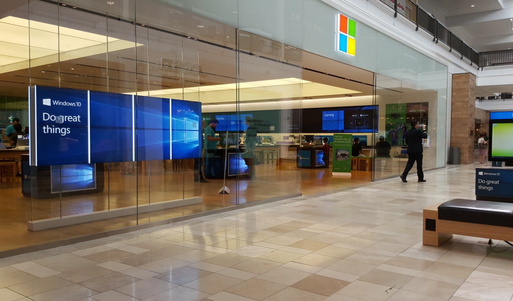 Windows Store West Valley Fair Mall Santa Clara California