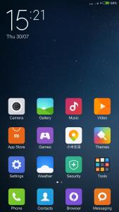 Xiaomi Mi Note Pro First Update Screen 3