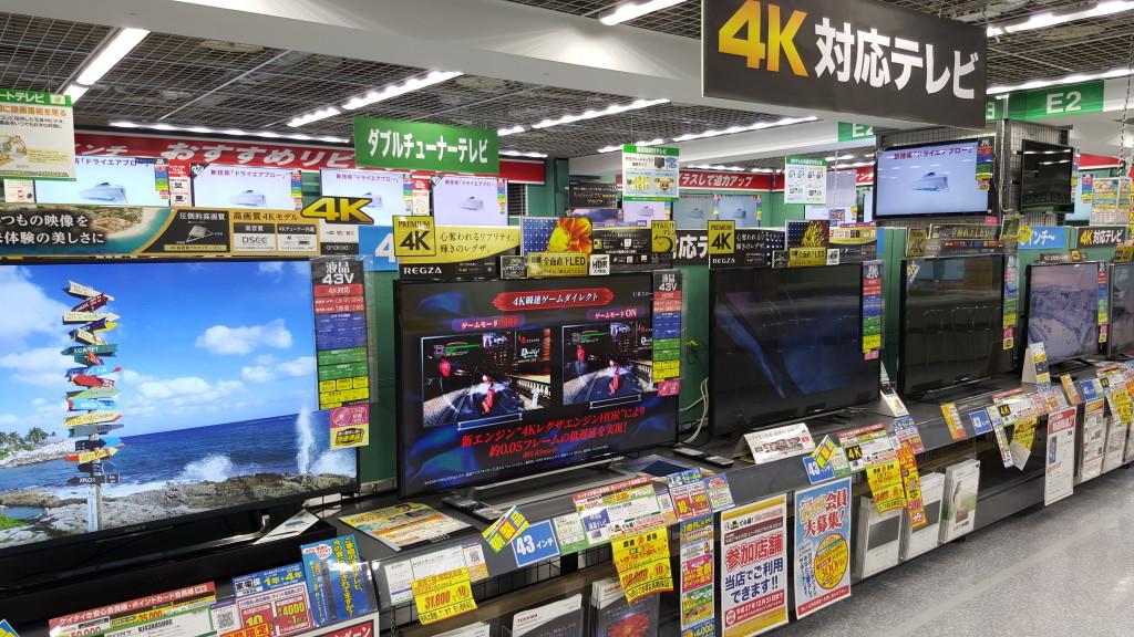 Yamada Denki Labi Nagoya 4K Display-1