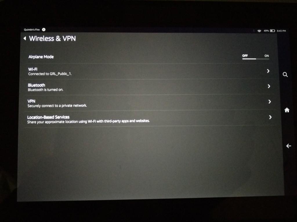 Amazon Fire HDX 8.9 and Keyboard Bluetooth Setup-1