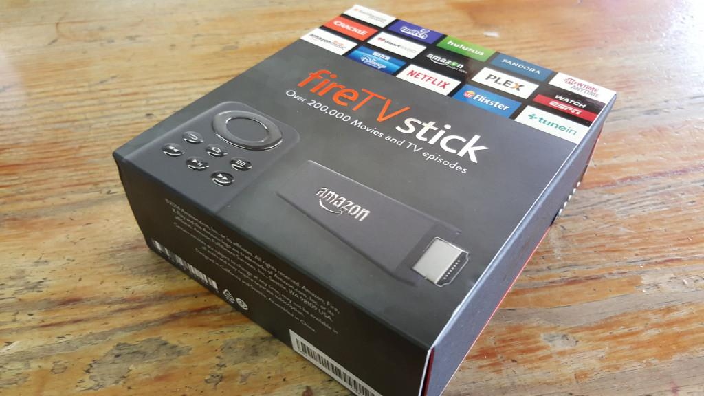 Amazon Fire Stick Box Front Corner Shot