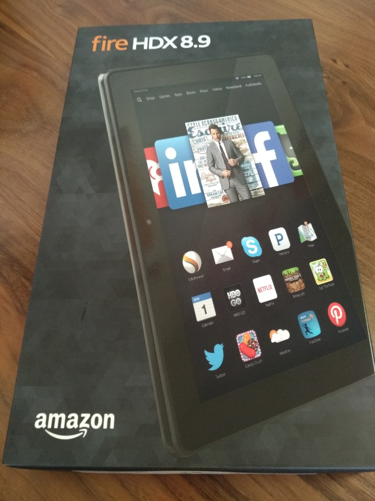 Amazon Kindle Fire HDX89 Top Shot at Vitality Bowl San Ramon California