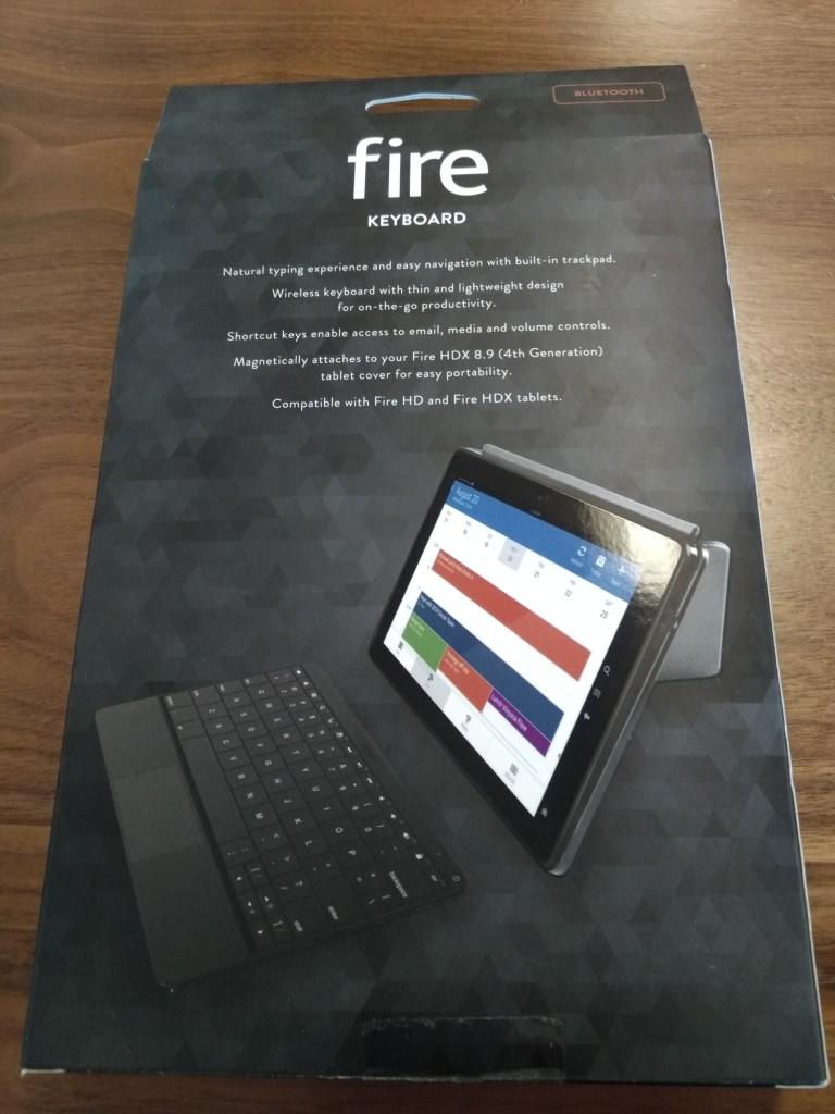 Amazon Kindle Fire Keyboard Bottom Shot at Vitality Bowl San Ramon California
