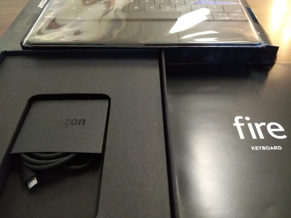 Amazon Kindle Fire Keyboard at Vitality Bowl San Ramon California-Unboxing3