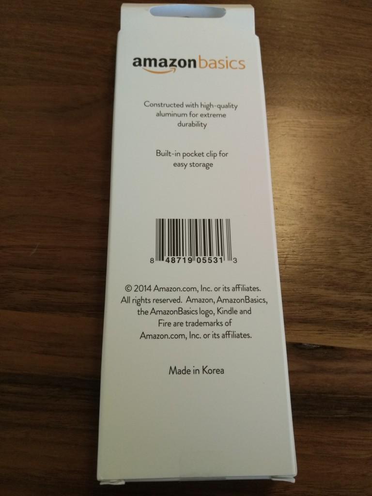 Amazon Kindle Fire Stylus Bottom Shot at Vitality Bowl San Ramon California