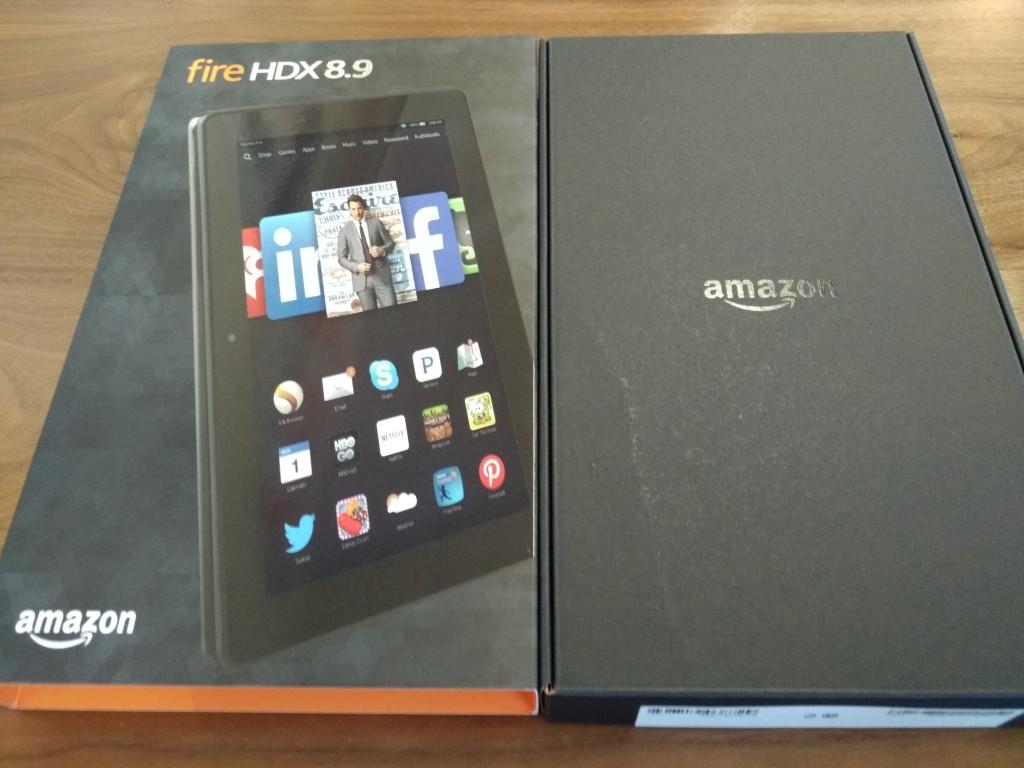 Amazon Kindle HDX 89 at Vitality Bowl San Ramon California-Unboxing1