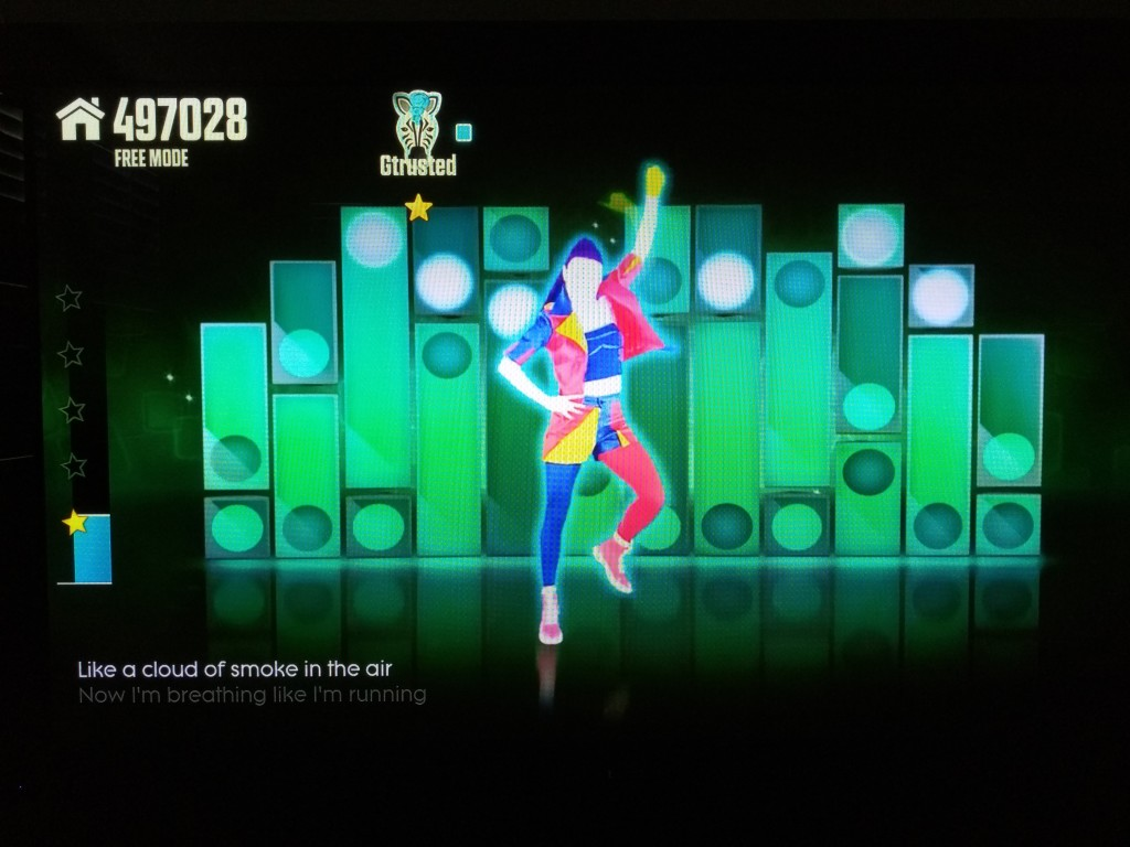 Just Dance Now on Asus Nexus Player-2