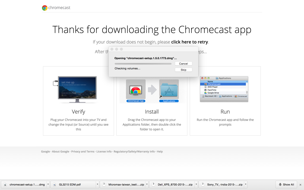 Chromecast Macbook Pro Download
