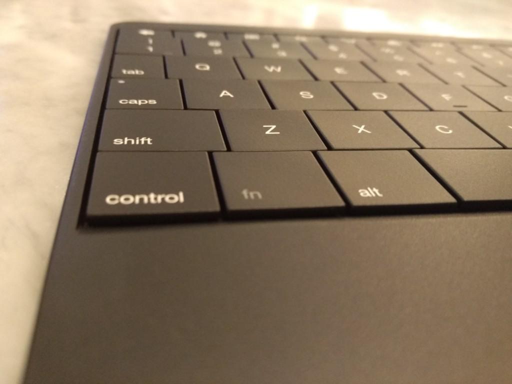 Replaced Amazon Fire Keyboard left macro shot