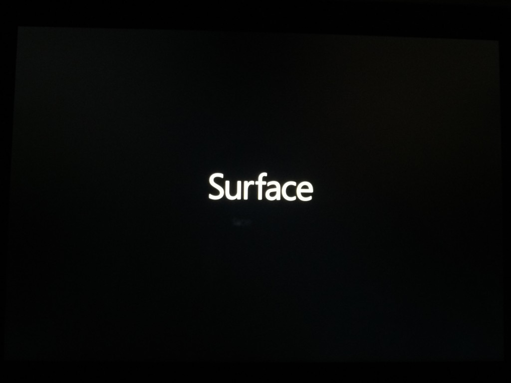 Replaced Microsoft Surface 3 Initial Setup-1