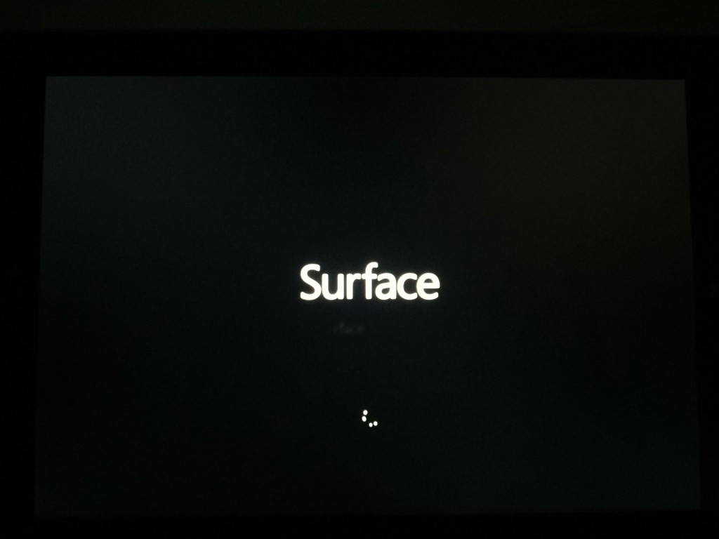 Replaced Microsoft Surface 3 Initial Setup-6