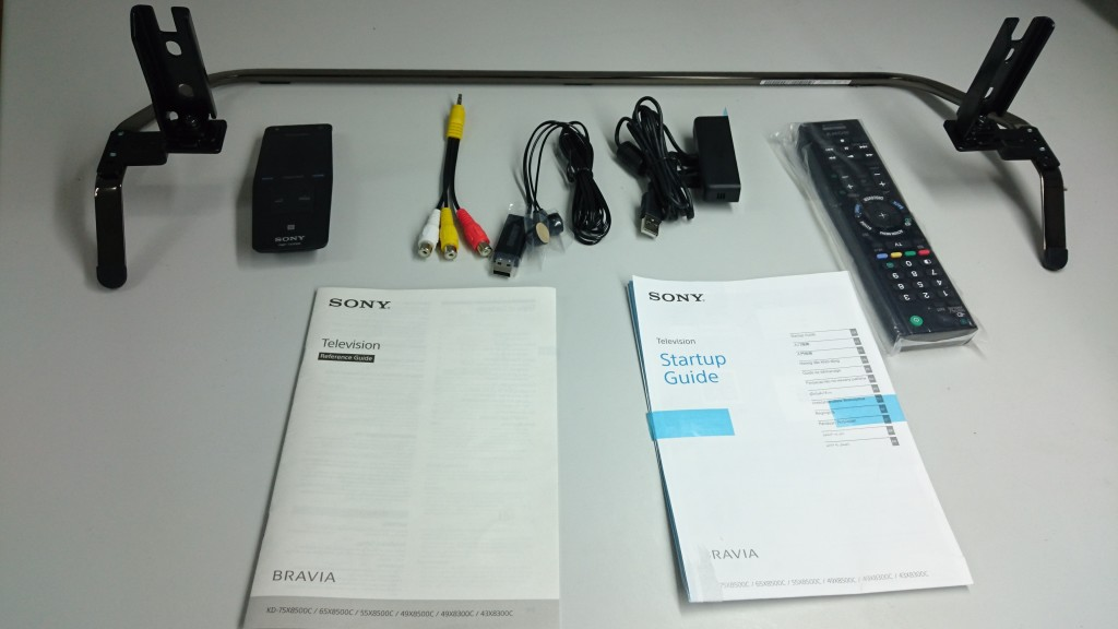 sony tv accessories. sony 4k tv unboxing accessories tv c