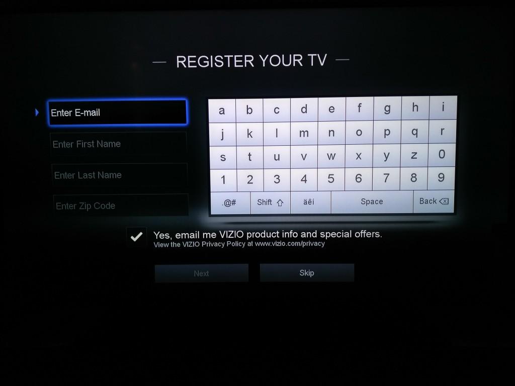 Vizio M-Series 4K Ultra HD Smart TV Startup-8