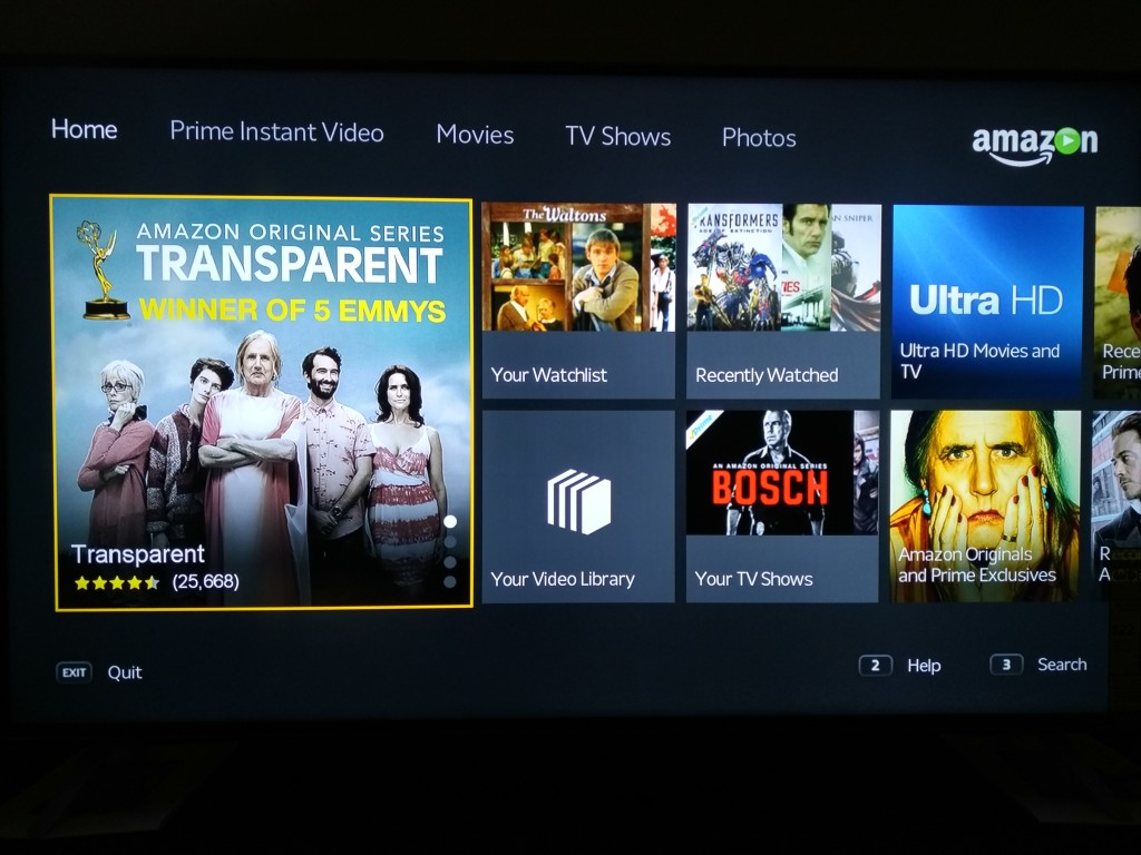 Vizio M-Series 4K Ultra HD Smart TV Startup-Amazon2