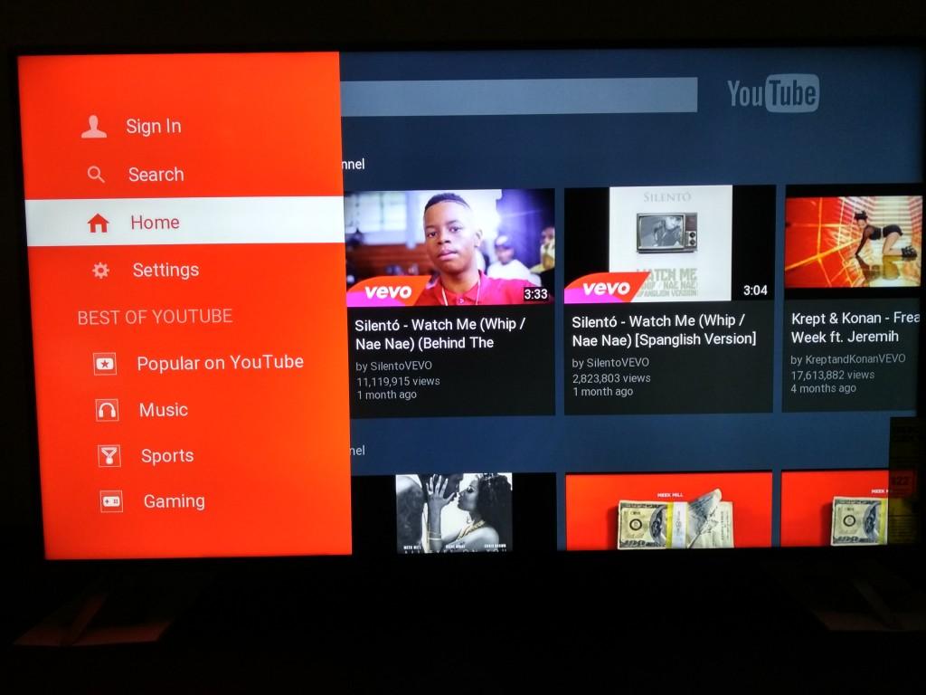 Vizio M-Series 4K Ultra HD Smart TV Startup-YouTube