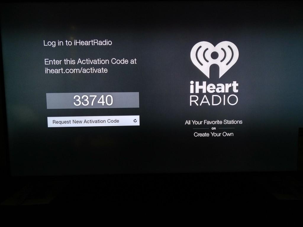Vizio M-Series 4K Ultra HD Smart TV Startup-iHeart Radio