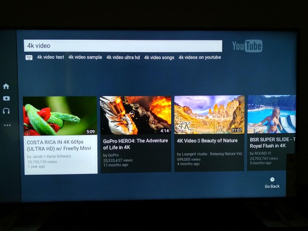 Vizio M-Series 4K Ultra HD Smart TV YouTube 4K