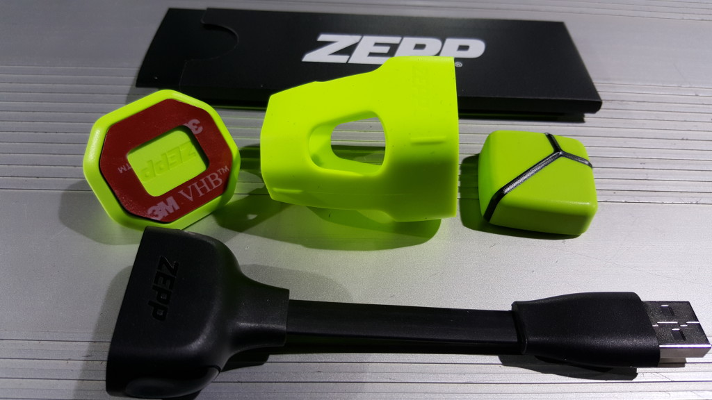 Zepp Tennis Box on Babolat Pure Drive Lite in San Ramon California- Accessoriesjpg