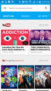 Chromecast App on Samsung Galay Note 4 for Google Chromecast (2015) Setup-23