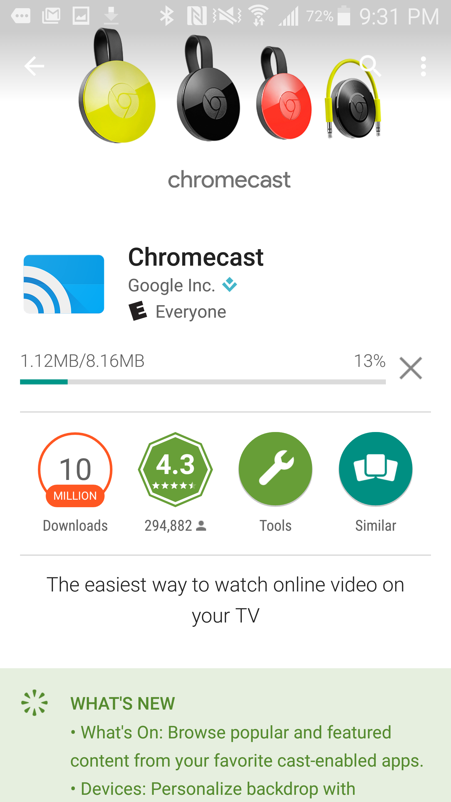 how to use chrome on chromecast