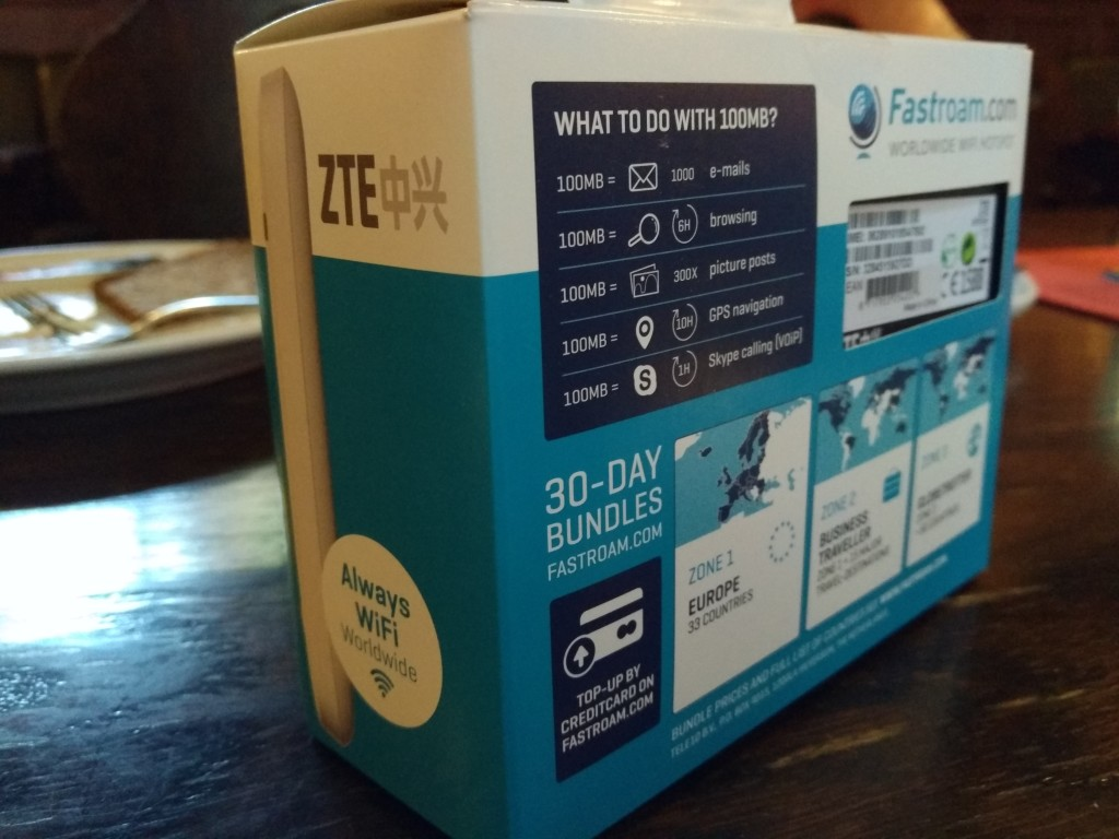 Recommended for HSPA+uFi(Wireless Hotspot) by ZTE - GTrusted