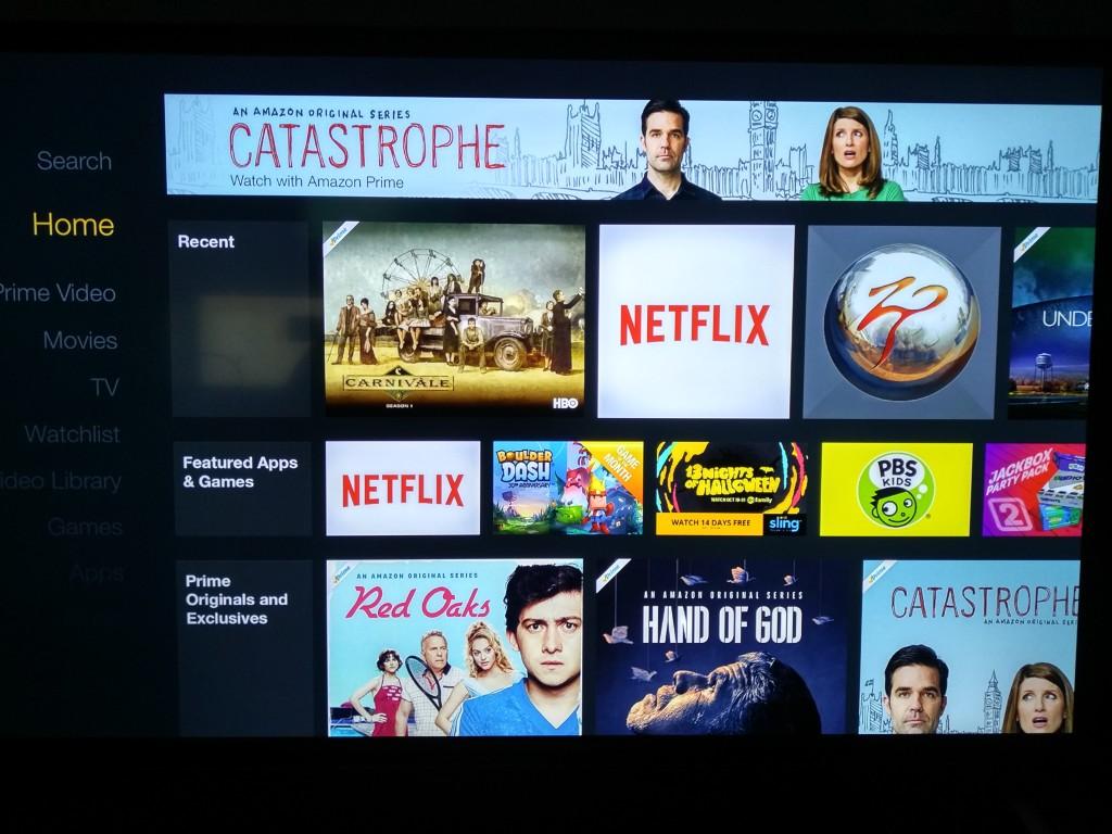 Fire TV Stick HDMI to Vizio 4K TV-4